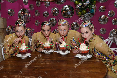 'Christmas Lights' Raspberry Frrrozen Hot Chocolate, New York