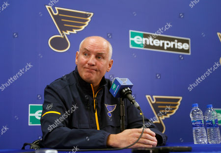 Editorial picture of Blues Yeo Fired Hockey, St. Louis, USA - 20 Nov 2018