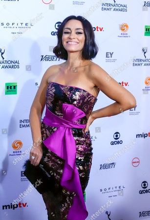 Editorial picture of 46th Annual International Emmy Awards, Arrivals, New York, USA - 19 Nov 2018