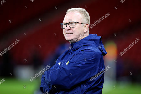 Scotland Manager Alex McLeish during the UEFA Nations League match between Scotland and Israel at Hampden Park, Glasgow