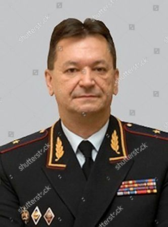 """From the Russian Interior Ministry web site shows Alexander Prokopchuk, Russian Interior Ministry general who's currently an Interpol vice president. Kremlin foes including financier Bill Browder, Mikhail Khodorkovsky and Alexei Navalny have warned that naming a top Russian police official to the job would undermine Interpol. Russian Interior Ministry spokesman Irina Volk on lashed out at critics, accusing them of running a """"campaign to discredit"""" the Russian candidate Alexander Prokopchuk"""
