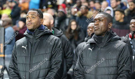 Clarence Seedorf Head coach of Cameroon and Patrick Kluivert assistant manager of Cameroon