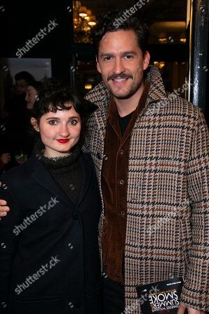 Ruby Bentall and Ben Aldridge