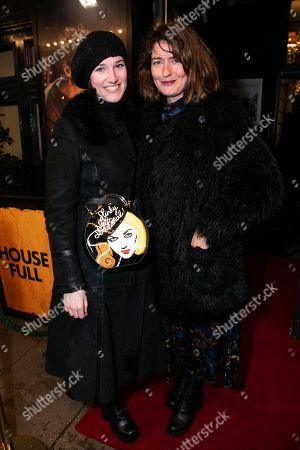 Poppy Chancellor and Anna Chancellor