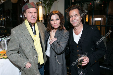Ray Davies, Kate Fleetwood and Rupert Goold (Producer)