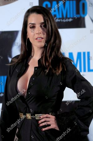 Ruth Lorenzo poses at the photocall of the presentation of Spanish singer Camilo Sesto's latest album 'Camilo Sinfonico' in Madrid, Spain, 20 November 2018.