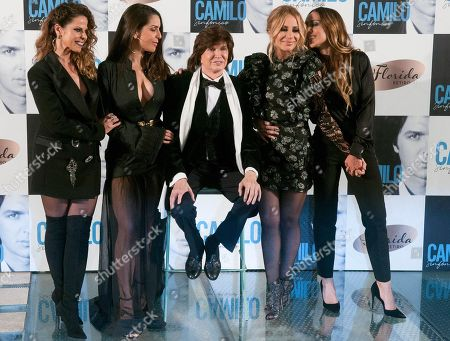 Editorial photo of Camilo Sexto 'Camilo Sinfonico' Album Launch, Florida Retiro, Madrid, Spain - 20 Nov 2018