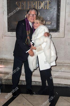 Stephen Way and Gloria Hunniford