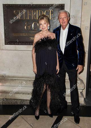 Stock Photo of Hilary Weston and Galen Weston