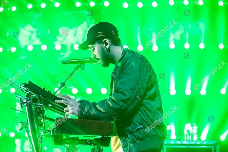 Mike Shinoda in concert at The Fillmore, Detroit