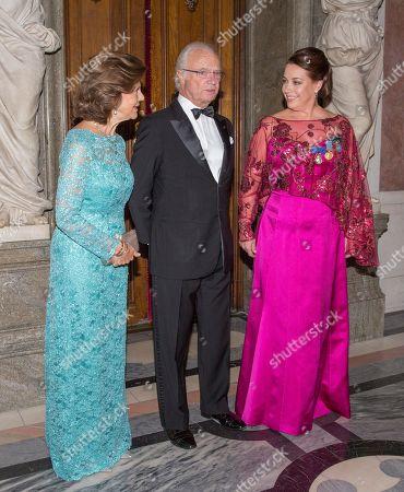Queen Silvia, King Carl Gustaf, Nina Stemme