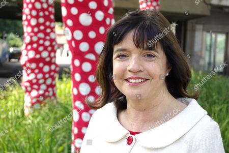 Editorial photo of Barbara Follet MP on the SouthBank, London, Britain - 25 Jun 2009