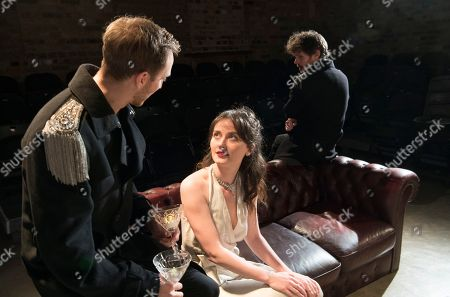 James Marlowe as Grushnitsky, Scarlett Saunders as Princess Mary, Oliver Bennett as Pechorin,
