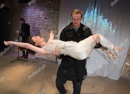 Oliver Bennett as Pechorin,  James Marlowe as Grushnitsky, Scarlett Saunders as Princess Mary,