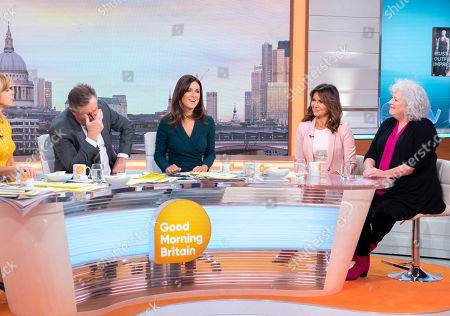 Piers Morgan, Susanna Reid, Lizzie Cundy and Anna May Mangan