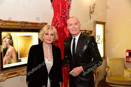 Marie-Christiane Marek and Jean-Claude Jitrois
