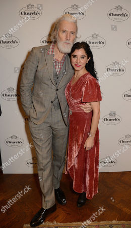 Aiden Brady and Maria Jose Bavio