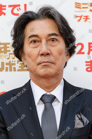 Japanese actor Koji Yakusho at the 1 billion yen Year end Jumbo lottery launch