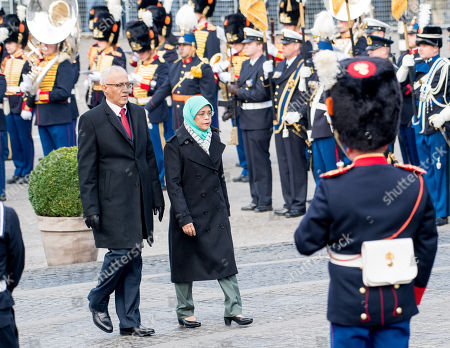 The President of Singapore, Halimah Yacob and her husband Mohamed Abdullah Alhabshee