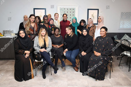 Editorial image of Meghan Duchess of Sussex visit to the Hubb Community Kitchen, London, UK - 21 Nov 2018