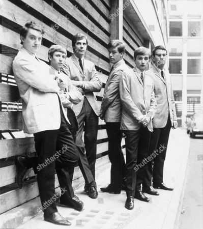 Zoot Money's Big Roll Band - Zoot Money, Andy Summers, Paul Williams, Johnny Almond, Collin Allen and Nick Newell - 1960s