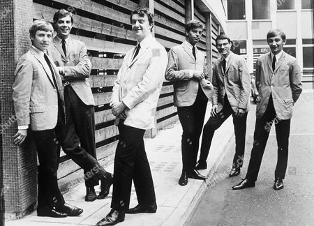 Zoot Money's Big Roll Band - Andy Summers, Paul Williams, Zoot Money, Johnny Almond, Nick Newell and Collin Allen- 1960s