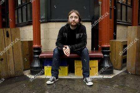 Editorial picture of Chris McCausland in Soho, London, Britain - 21 Jul 2009