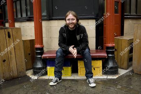 Editorial image of Chris McCausland in Soho, London, Britain - 21 Jul 2009