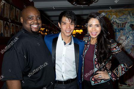 Major Attaway, Telly Leung, Arielle Jacobs