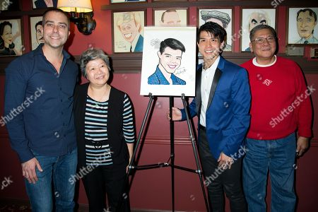 Telly Leung and family