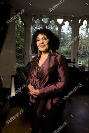 Editorial photo of Cleo Laine and John Dankworth at home in Wavendon, Britain - 21 May 2009