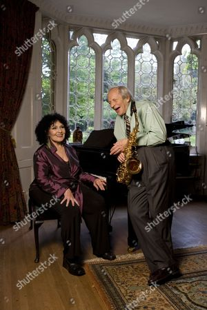 Stock Photo of Cleo Laine and John Dankworth