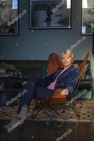 Editorial photo of Hanne-Vibeke Holst photo shoot, Stockholm, Sweden - 17 Oct 2018