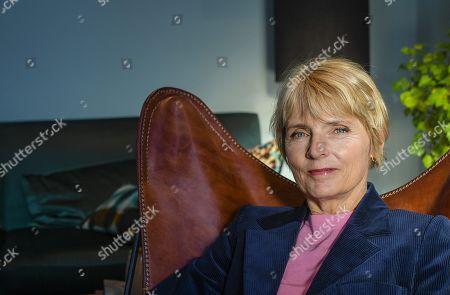 Editorial image of Hanne-Vibeke Holst photo shoot, Stockholm, Sweden - 17 Oct 2018