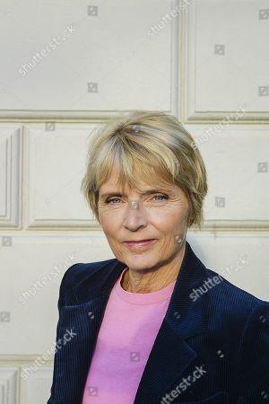 Editorial picture of Hanne-Vibeke Holst photo shoot, Stockholm, Sweden - 17 Oct 2018