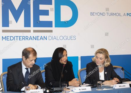Editorial photo of Rome 2018 MED Mediterranean Dialogues Conference, Italy - 21 Nov 2018