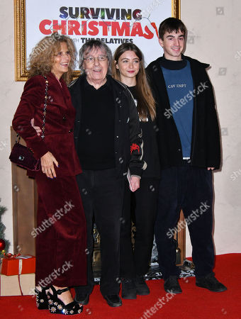 Bill Wyman, Suzanne Wyman and children