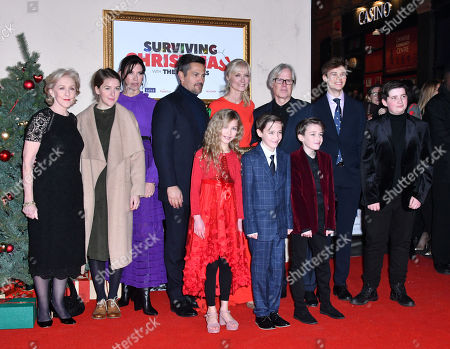 Editorial picture of 'Surviving Christmas with the Relatives' film premiere, London, UK - 21 Nov 2018