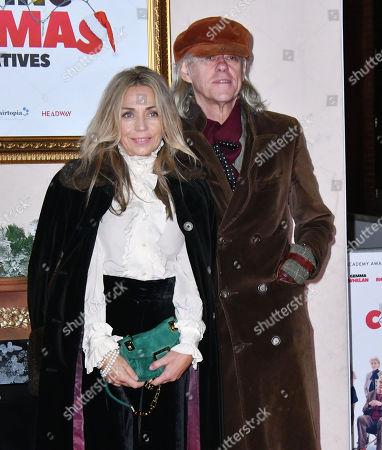 Stock Image of Jeanne Marine, Bob Geldof
