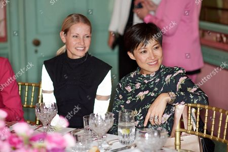 Stock Picture of Holli Rogers and Sandra Choi