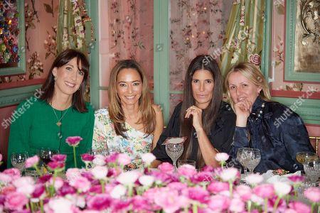 Samantha Cameron, Whitney Bromberg Hawkings, Elizabeth Saltzman and Laura Weir