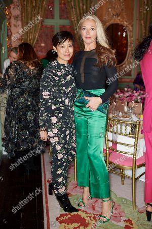 Sandra Choi and Tamara Beckwith Veroni