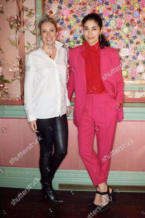 Editorial photo of Monica Vinader and Whitney Bromberg Hawkings co-host VIP Thanksgiving Dinner, London, UK - 21 Nov 2018