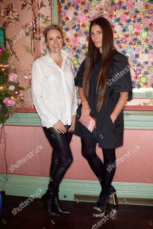 Stock Photo of Stephanie Phair and Elizabeth Saltzman