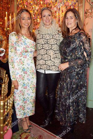 Editorial picture of Monica Vinader and Whitney Bromberg Hawkings co-host VIP Thanksgiving Dinner, London, UK - 21 Nov 2018