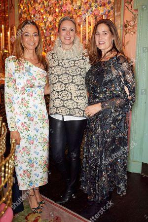 Editorial image of Monica Vinader and Whitney Bromberg Hawkings co-host VIP Thanksgiving Dinner, London, UK - 21 Nov 2018