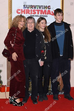 Suzanne Wyman, Bill Wyman and family