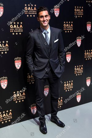 Real Madrid's former player Alvaro Arbeloa attends the Soccer Gala organized by Madrid's Soccer Federation in Madrid, Spain, 21 November 2018.