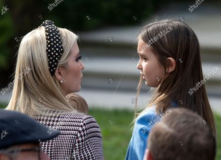 First Daughter and Advisor to the President Ivanka Trump and her daughter, Arabella Kushner