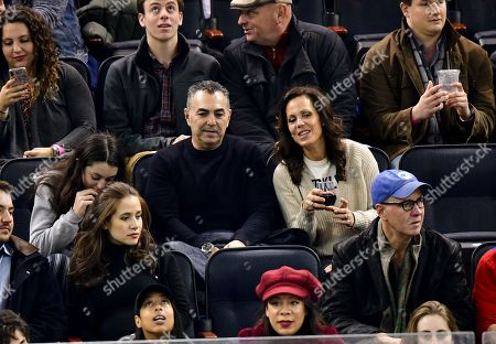 Editorial image of Celebrities at New York Islanders vs New York Rangers, NHL ice hockey match, Madison Square Garden, New York, USA - 21 Nov 2018
